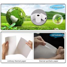 Papel sintético PP fosco para impressão offset 120um
