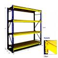 Boltless estantería lista stock venta en efectivo 0.95m * 0.45m * 1,8 m ángulo de acero rack