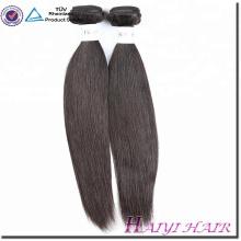 Barato Full Cuticle cabello humano precio más bajo sin procesar Virgen Virgen sedoso cabello recto extensión