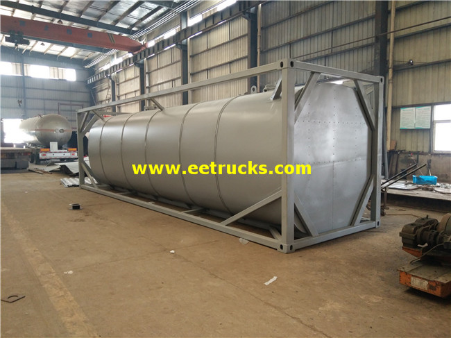 Sulfuric Acid Tanker Container