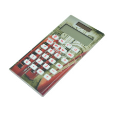 Dual Power Fancy Pocket Calculator avec impression complète