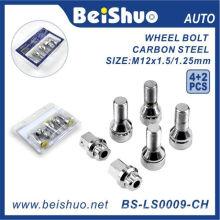 4PCS / Set Rad-Lug-Schraube mit 2 Schlüsseln