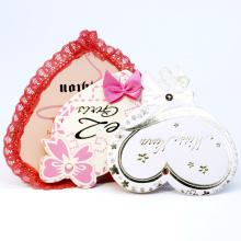Factory  Directly Paper Hang Tags Custom Wedding Thank You Card Hang Tag