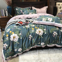 Luxurious Modern Design Bed Linen Cotton Printed Soft for Double Bed Duvet Cover