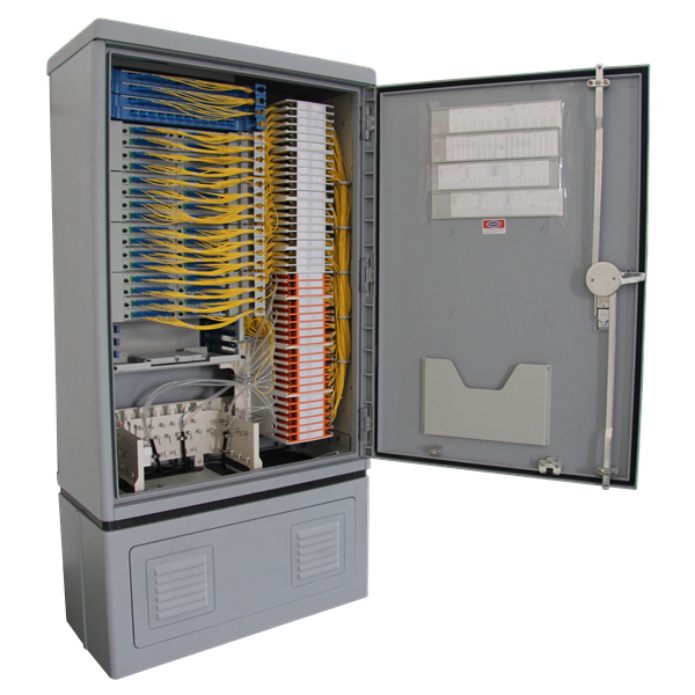 Fiber Optic Cross Connect Cabinet