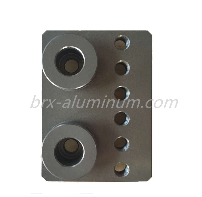 Hard Anodized Aluminum Alloy Machine part
