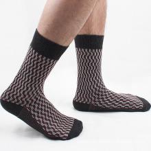Men′s Cotton Crew Business Socks (MA034)