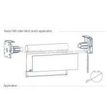 Curtain Accessories For Curtain Bind Roller Installation For 38mm Aluminum Tube