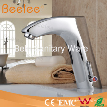 Durable Brass Infrared Sensor Water Tap with Hot Cold Water (QH0112A)