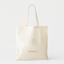 Eco Friendly Blank Plain White Yellow Pink Canvas Cotton Shopping bags Foldable Reusable Tote Bag with Printed Logo