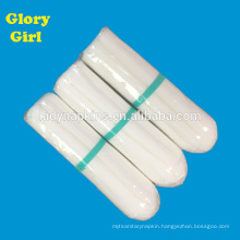 Personal rayon cotton non applicator tampons with normal size for 3-5th days