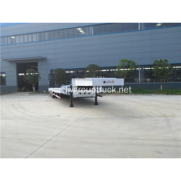 Remolque Lowboy FUWA Axle Low Bed Semi Truck Trailer