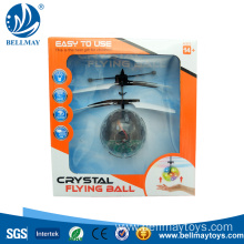 Crystal Induction Flying Ball Aircraft
