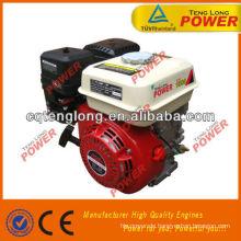 Zwei kleine LPG Motor 6.5HP läuft