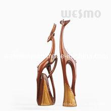 Esculturas elegantes de los ciervos de Polyresin (WTS0003A y B)
