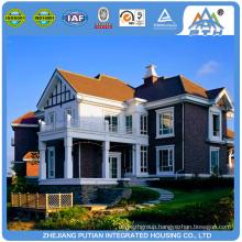 High quality europe style villa prefabricated church building