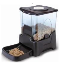 Alimentador Automático para Animais de Grande Capacidade com LCD