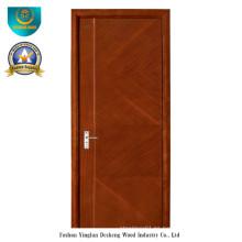 Puerta HDF de estilo moderno para interiores (ds-089)
