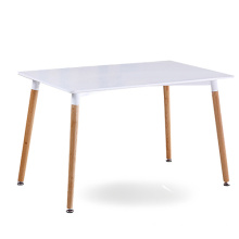 DSW Eiffel White Top Rectangle Dining Table
