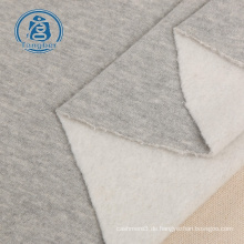Gestrickter Frottee aus einfachem Fleece für Pullover