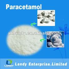 Paracetamol pó branco fino