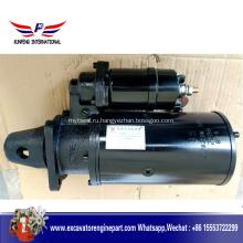 Двигатель стартера запасных частей двигателя дизеля Weichai 612600090340