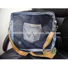Sac messenger Jeans