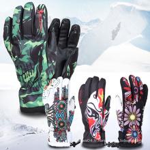 Professional chauffé imperméable à l'eau Snow Cool Sports Outdoor Ski Gloves
