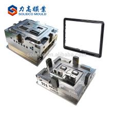 Personalizado elegante e barato LCD TV caso de plástico molde, LED TV tampa traseira de plástico peças de molde de injeção China fabricante