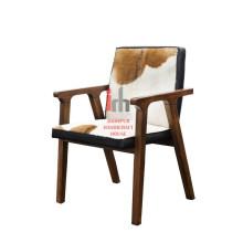 Leather Armrest Chair