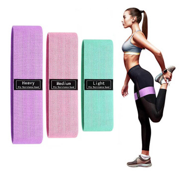 Fabric Booty Band Gym Fitness Glute Resistance Band