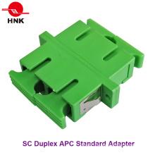 Sc Duplex Singlemode APC Standard Faseroptik Adapter