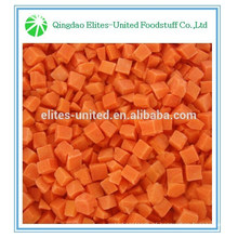 Good quality frozen diced carrots