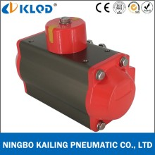 At125s Aluminum Material Pneumatic Spirng Return Actuator for Butterfly Valve