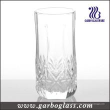 Gobelet en verre soufflé gravé de 12 oz
