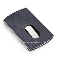 Hand-Push-Typ PU-Visitenkartenhalter