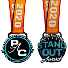 Медальон чемпионов в форме медальона нестандартного размера