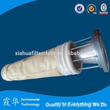 Vacuum cleaner filter bag for dust