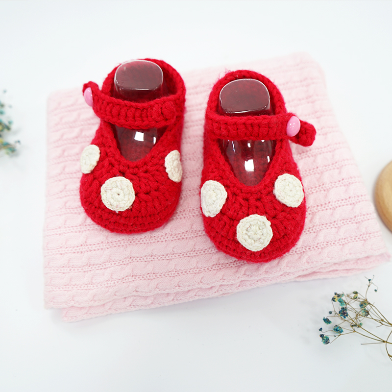 Newborn Crochet Shoes