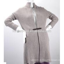 Mode Damen Kaschmir stricken Pullover Mantel