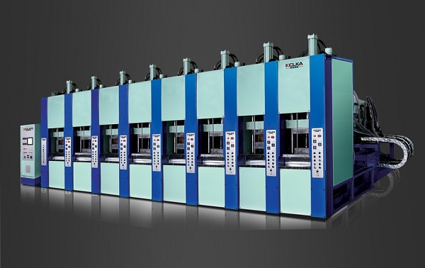 Full Automatic Foam Eva Double Color Injection Moulding Machine