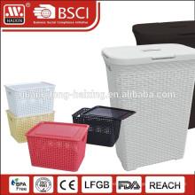 large capacity plastic fruit storage basket
