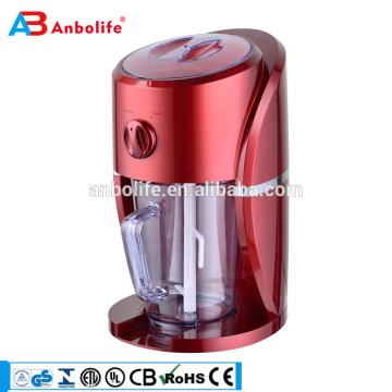 CE GS cert. 1.1L 25W de Alta Qualidade Fino, Grosso e de Mistura Função Máquina Trituradora de Gelo Automática Elétrica / Fabricante de Sorvete