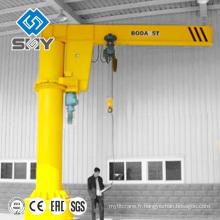 La grue électrique de potence de pivotement de bras monté par pilier 0.5-5 tonne à vendre