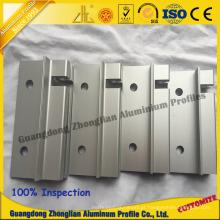Perfil de alumínio da mobília com perfil fazendo à máquina da porta do CNC
