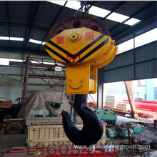 working instruction crane hook block