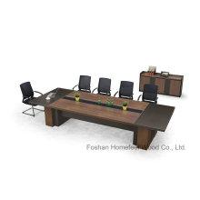 Table de réunion de conférence haut de gamme Meubles de bureau en bois par Guang Dong Factory (HF-ZTXK1301)