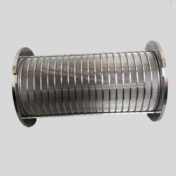 China Reverse Rolled Wedge Wire Filtration Pipe