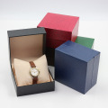 Leatherette paper high end watch box