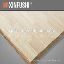 Panel de madera para el mercado de Corea